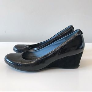 Rockport by Adidas black wedge shoes size 7,5